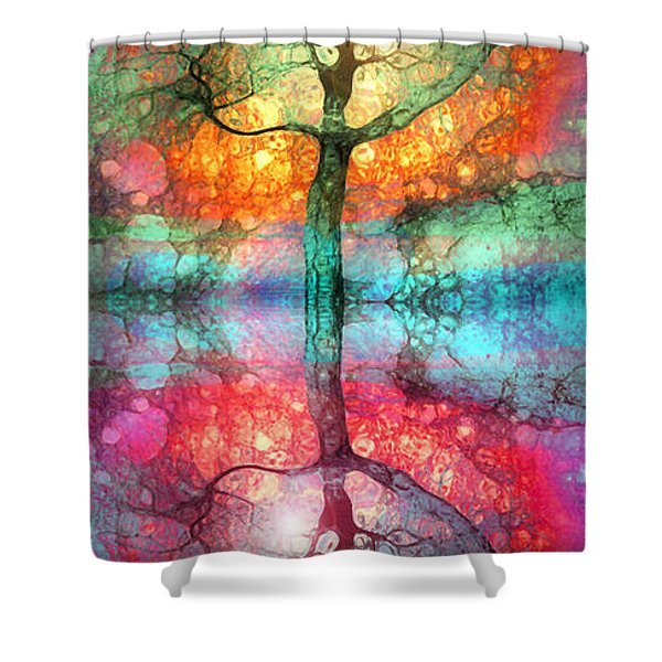 Take The Light This Life Has To Offer Shower Curtain