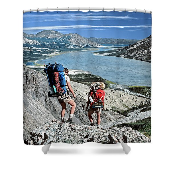 Take This View And Love It Shower Curtain