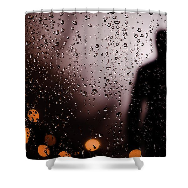 Take Your Light With You Shower Curtain