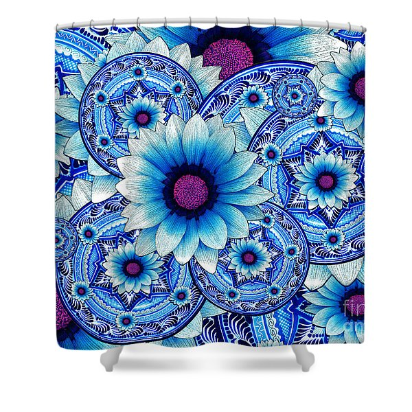 Talavera Alejandra Shower Curtain