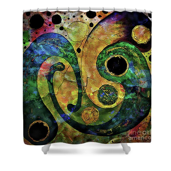 Tales Of The Past  Shower Curtain