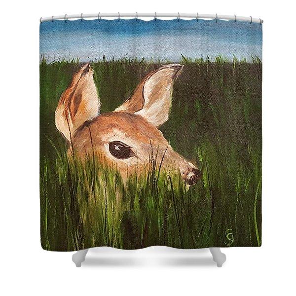 Tall Grass    #63 Shower Curtain