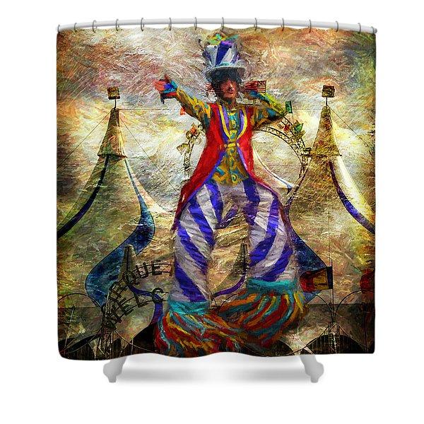 Tall Performer Shower Curtain
