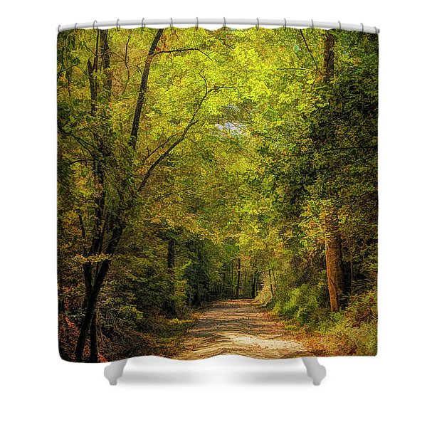 Tallulah Trail Shower Curtain