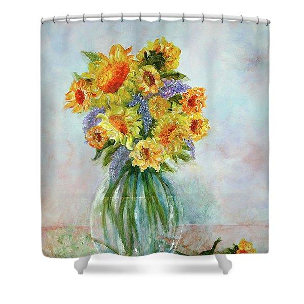 Tammy's Bouquet Shower Curtain