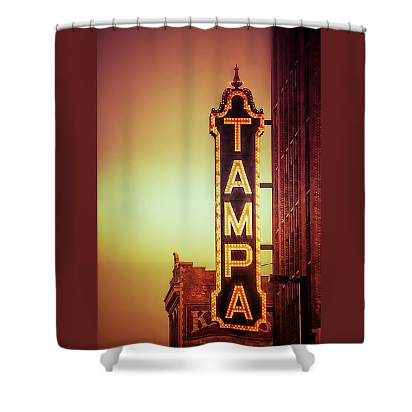 Tampa Theatre Shower Curtain