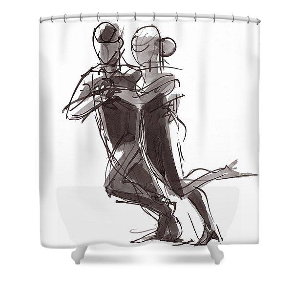 Tango #24 Shower Curtain