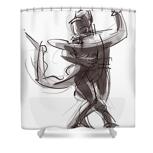 Tango #25 Shower Curtain