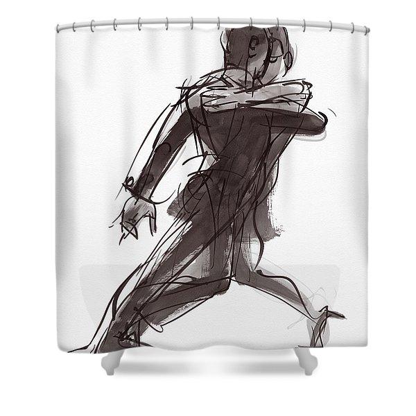 Tango #27 Shower Curtain