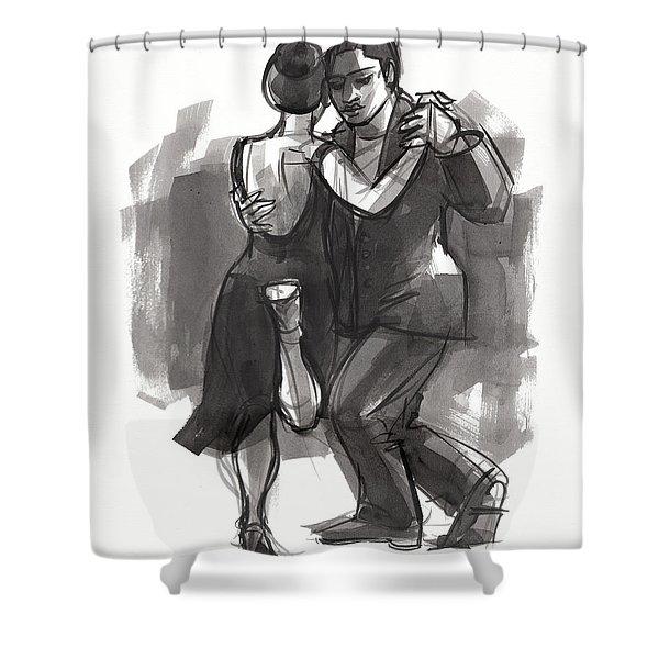 Tango 6 Shower Curtain
