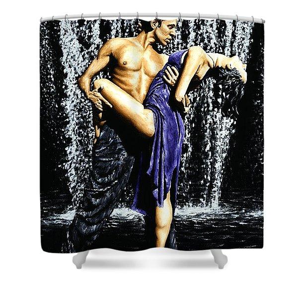 Tango Cascade Shower Curtain