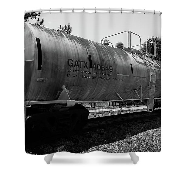 Tanker Shower Curtain