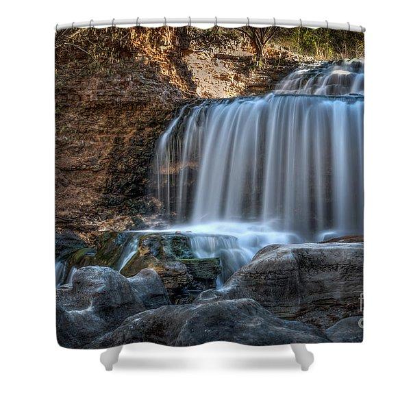 Tanyard Creek Shower Curtain
