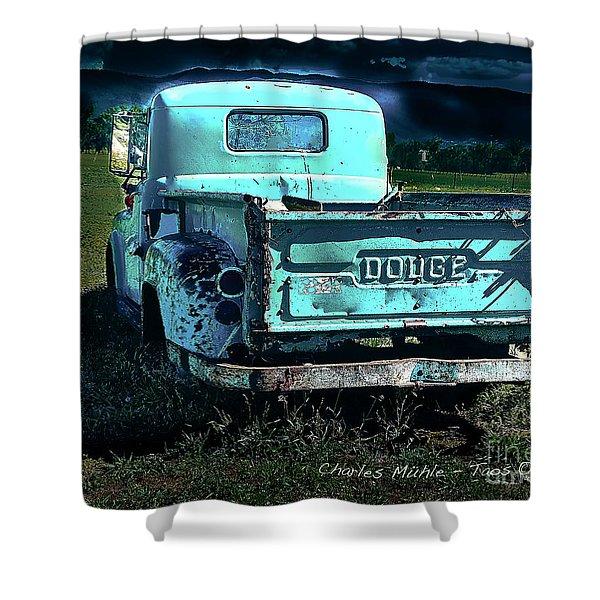 Taos Dodge Shower Curtain