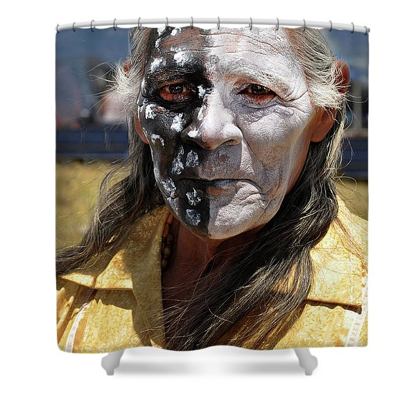 Taos Elder Shower Curtain