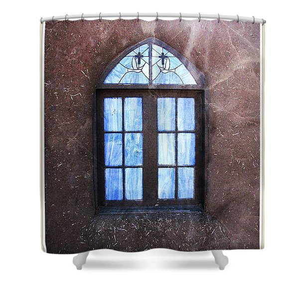 Taos, There's Something In The Light 4 Shower Curtain