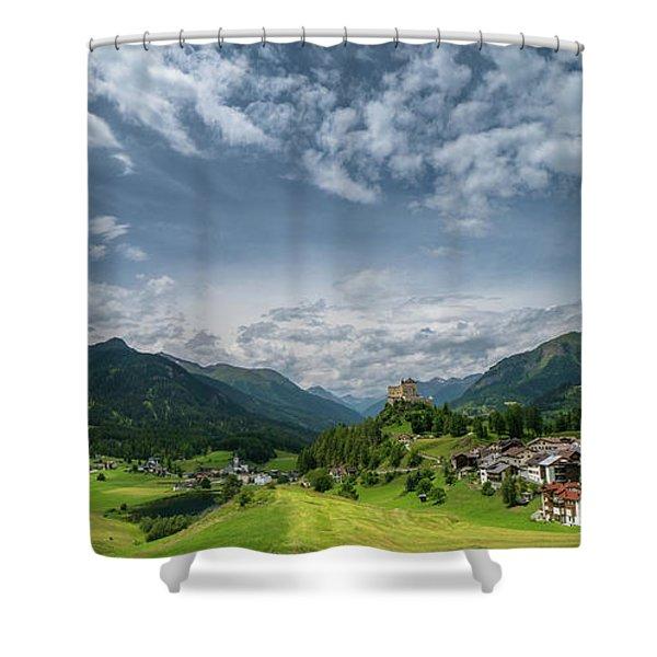 Tarasp Shower Curtain