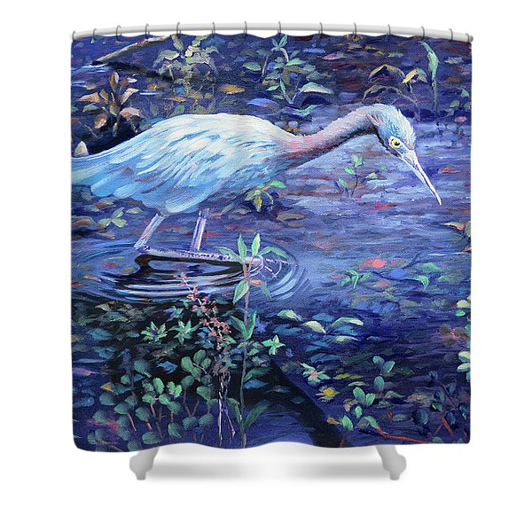 Targeted Ad Impetum Shower Curtain