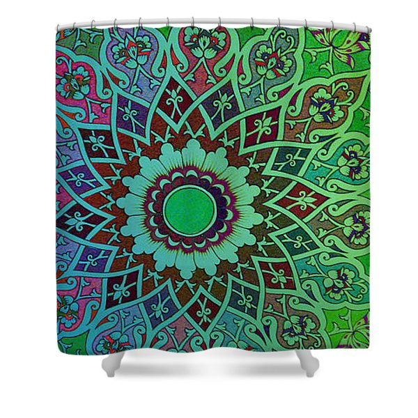 Tashkent Blossoms Mug Shower Curtain