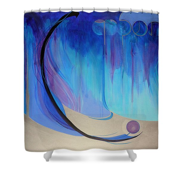 Tashlich Shower Curtain