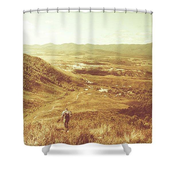 Tasmania Wonder Shower Curtain