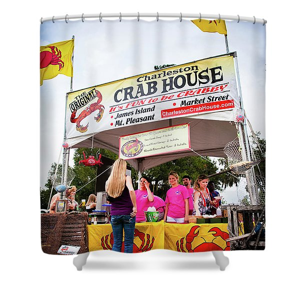 Taste Of Charleston Shower Curtain