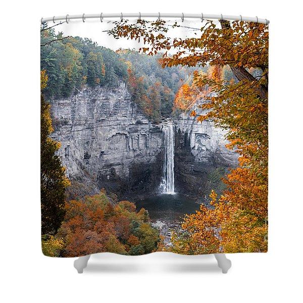 Taughannock Autumn Shower Curtain