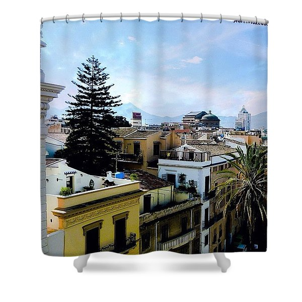 #tbt Family Trip To #sicily March 2011 Shower Curtain