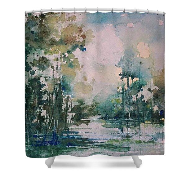 Tchefuncte River Shower Curtain