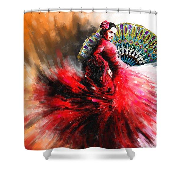 Tcm Spanish 166 Shower Curtain