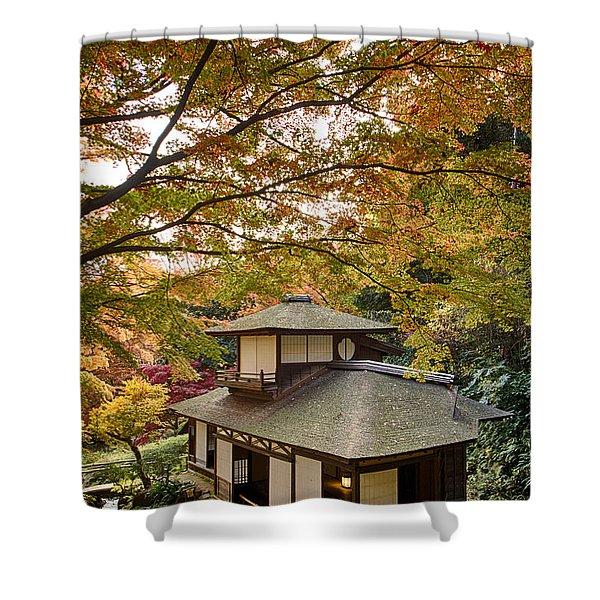 Tea Ceremony Room Shower Curtain