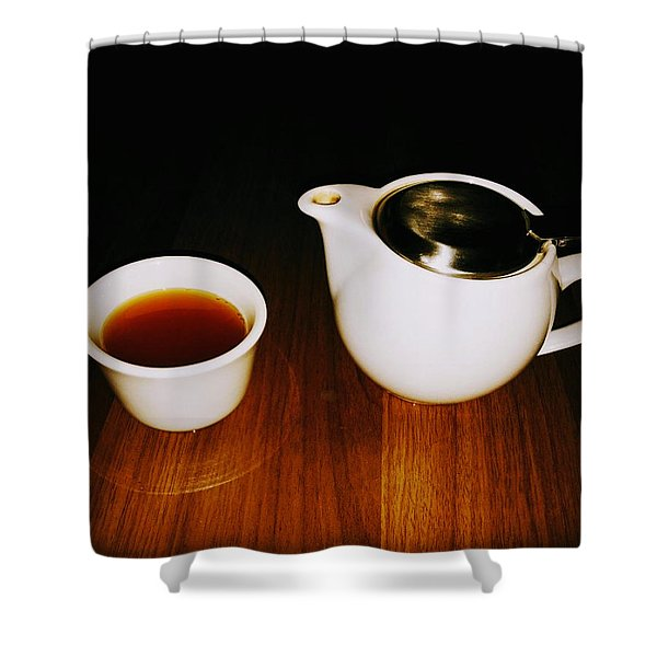 Tea-juana Shower Curtain