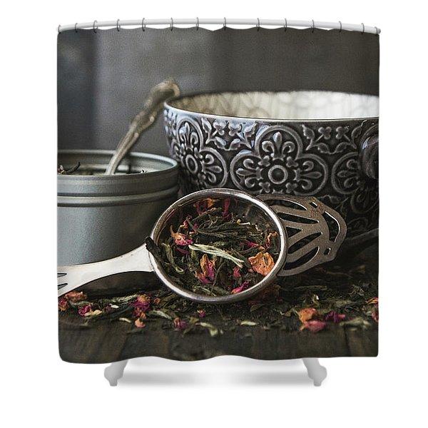 Tea Time 8312 Shower Curtain