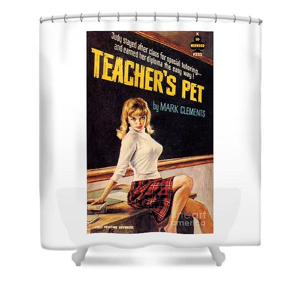 Teacher's Pet Shower Curtain