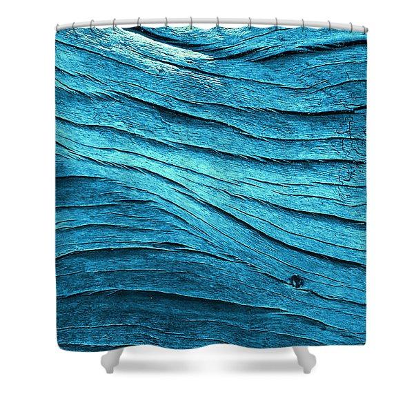 Tealflow Shower Curtain