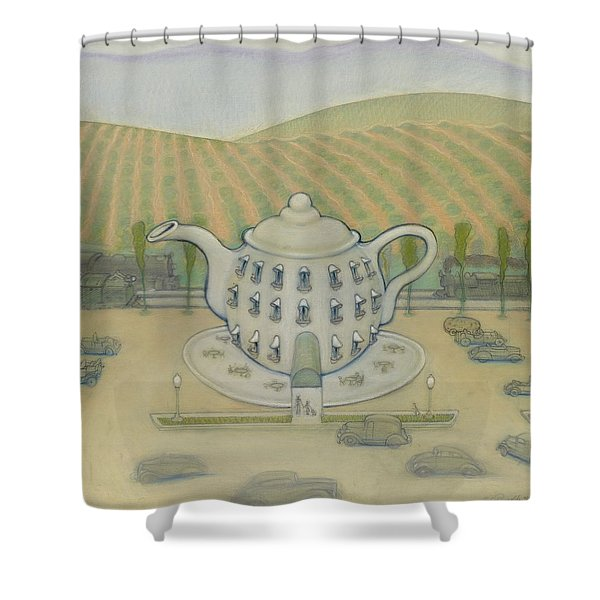 Teapot Shower Curtain
