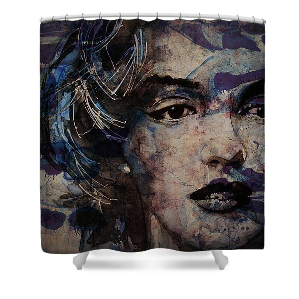 Tears Are How My Eye's Speak When  My Lips Can't Describe How Much I Have Been Hurt Shower Curtain