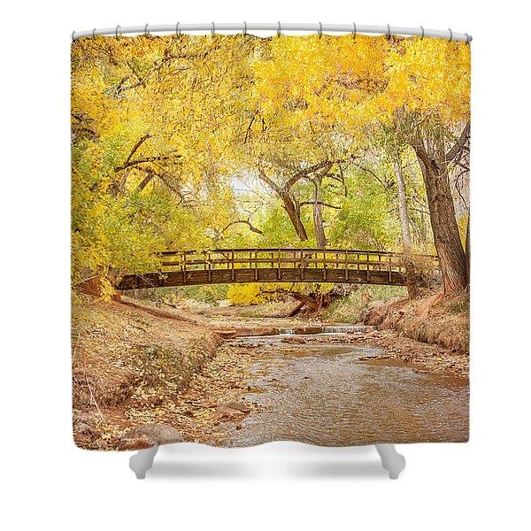 Teasdale Bridge Shower Curtain