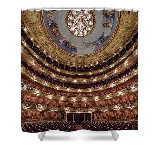 Teatro Colon Performers View Shower Curtain