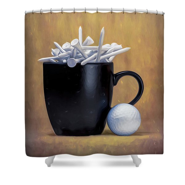 Teecup Shower Curtain