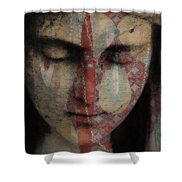 Tell Me There's A Heaven Shower Curtain