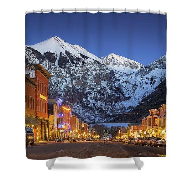 Telluride Main Street 3 Shower Curtain