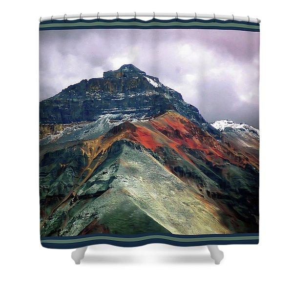 Telluride Mountain Shower Curtain