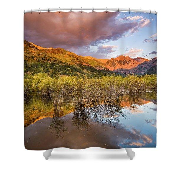 Telluride Valley Floor 2 Shower Curtain