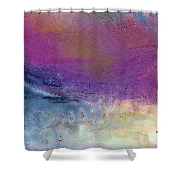 Temperamental Twilight Shower Curtain