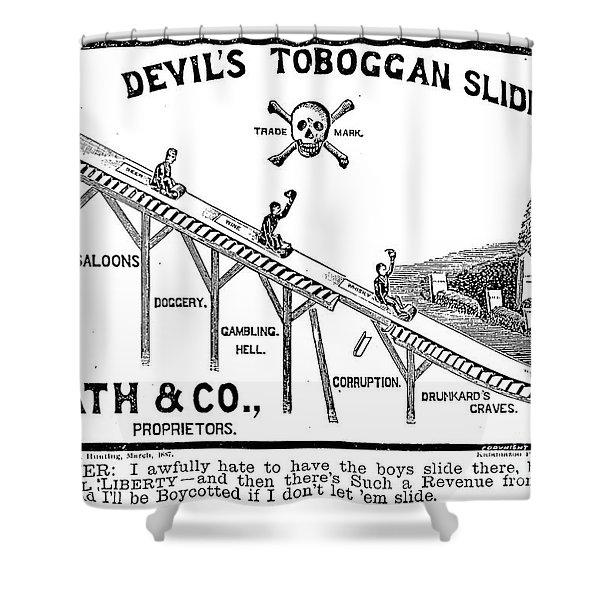 Temperance Movement 1887 Shower Curtain