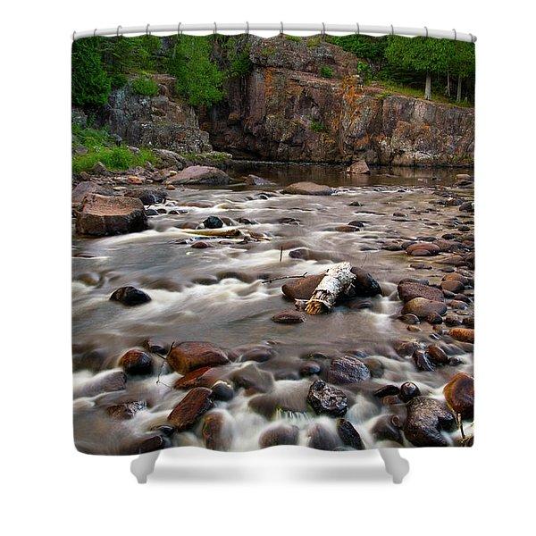 Temperance River Shower Curtain