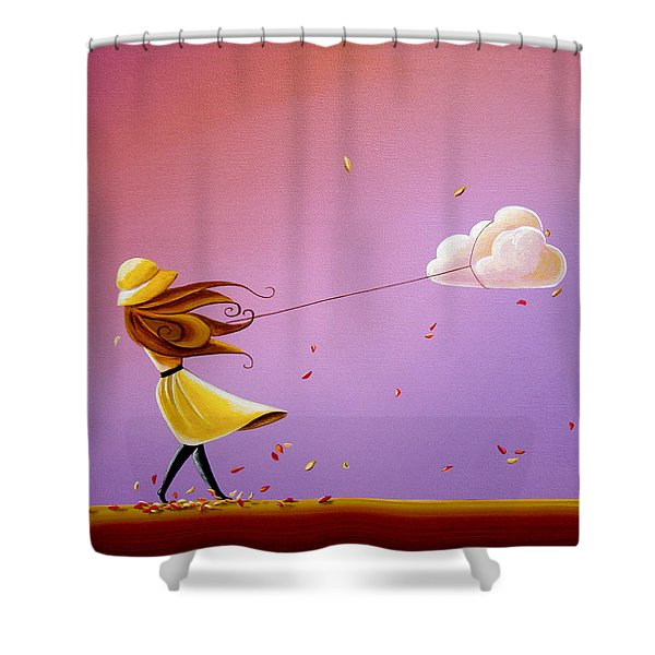 Tempestuous Shower Curtain