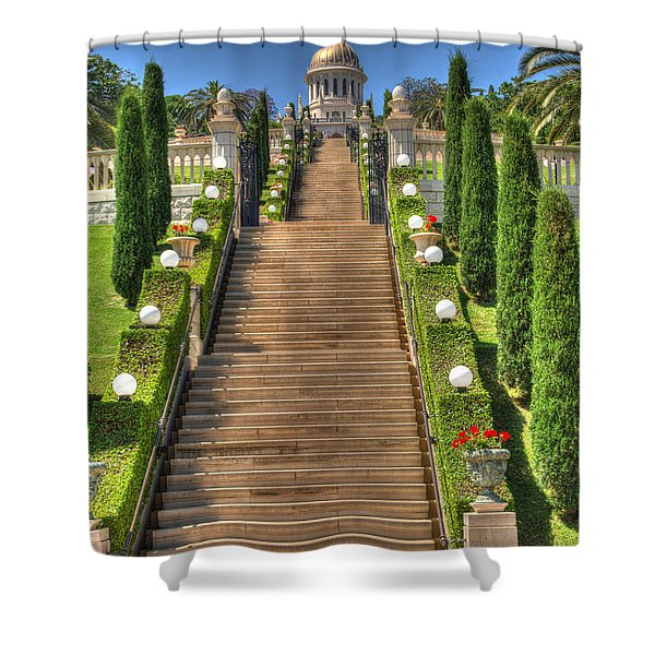Temple 2 Shower Curtain