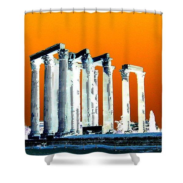 Temple Of Zeus Shower Curtain